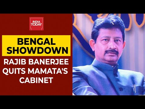 Bengal Assembly Polls: Rajib Banerjee Gets Emotional After Quitting Mamata Banerjee's Cabinet