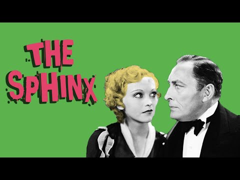 The Sphinx (1933) Adventure, Crime, Mystery