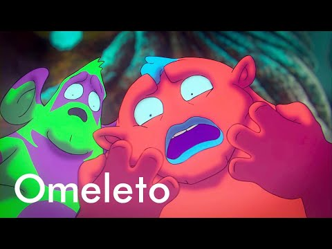 Cute, cartoon aliens arrive on Earth. Then they reveal their true intentions. | Toonocalypse