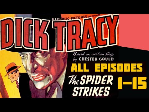 Dick Tracy (1937)  Action, Comedy, Crime - Serial Marathon Chapters 1-15